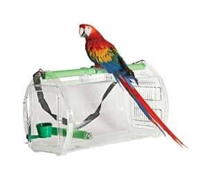 Boîte de transport en acrylique pour perroquet XXL–Travel Cage
