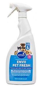 Envii Pet Fresh – Eliminateur de Tâches et Ddeurs D'animaux, Enzymes Décapantes et Neutralisatrices Pour Tous Les Incidents Liés Aux Animaux Aomestiques – 750ml