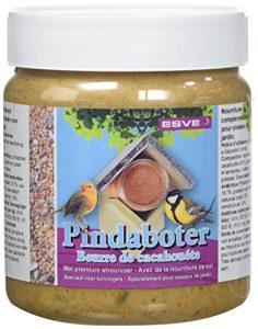 ESVE Beurre de Cacahouètes pour Oiseau/Animal Sauvage 500 g