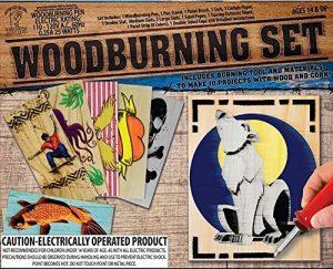 Group Sales National Toy & Gift Woodburning Craft Set