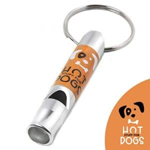 Hot Stuff For Dogs Sifflet pour Dressage De Chien Haute Fréquence – Sifflet Professionnel Anti-Aboiement – Parfait pour Éducation Longues Distances – sans Risque pour Votre Chien