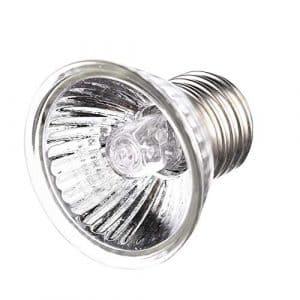 iStary Lampe de Chauffante Lampe Tortue Terrestre Ampoule Chaleur pour des Reptiles, Tortue, Lézard, Serpent, Full Spectrum Sunlamp, Éclairage d'isolation (50W)