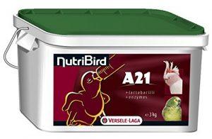Nobby – Nutribird A21 – Aliment pour oiseaux tropicaux – 3 kg
