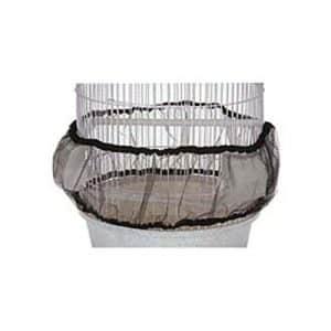 North American Animal domestique 50125065Guard Graines de maille de nylon Housse de cage à oiseaux, grande