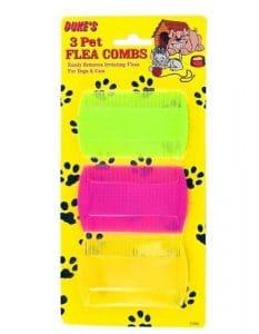 Pet Flea Peignes–cas de 72