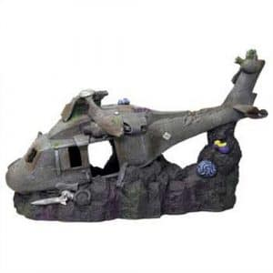 Resin Ornament – Super Sized Sunken Helicopter