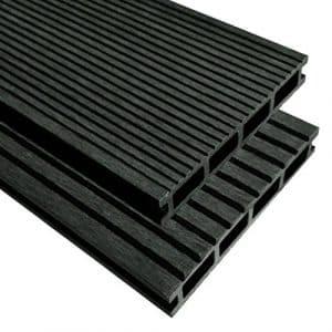 Stylizio WPC Planches de terrasse en Bois avec Accessoires 40M22.2m Anthracite