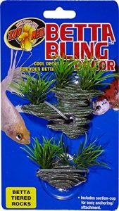 Zoo Med Labs Ornament Betta Bling Tiered Rocks Cool Decoration Betta's Home