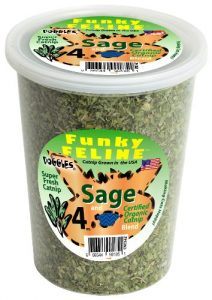 Doggles Lunettes Sage aromatisé Herbe à Chat Nourriture, 113,4Gram