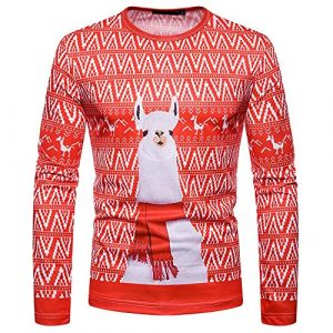 Heligen_Mens Sweatshirt – Sweat-Shirt – Manches Longues – Femme – – XL