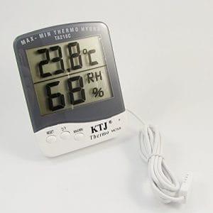LCD Affichage numérique Thermomètre hygromètre humidité Moniteur incubateur d'œufs Hive Chauffage par Dhlink