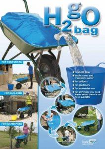 Planit Products H2go Sac de transport pour eau 80litres