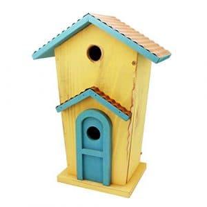 Ailihan Oiseaux de décoration de Maison à Deux étages Villa Cour Balcon Park Homestay (Environ 27,5 * 15 * 38 cm)