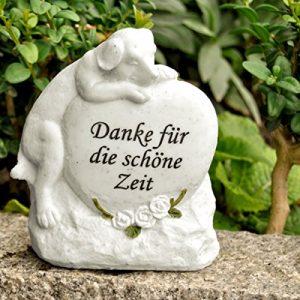 'Animaux Commémorative » «Chien/pierre tombale Merci pour les belles Temps»