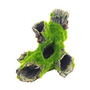 BAODYG Reptiles Cachettes Décoration de l'habitat Flocage Artificiel Trou d'arbre – Type A