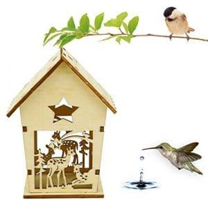 Diadia Bird Hut Repos Douillette pour Oiseaux–Peut Abriter à partir de Temps Froid–Nest DOX Nest House Bird House, idéal pour Finch et Canaries (A)