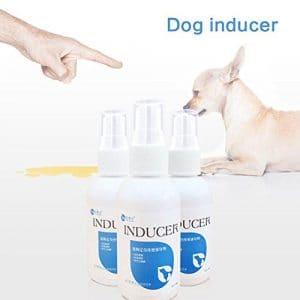 HYGMall 1 PC Pet Dog Inducteur Chien Fournitures Pour Animaux de compagnie 50 ml Toilette Formation Positionnement défécation chien inducteur