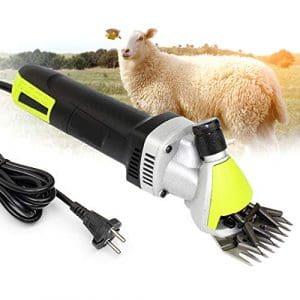 IDABAY Tondeuse à Mouton Electrique Haute Efficacité Portable Cisaillement Ciseaux des Moutons Chèvres Laine Poils Animaux 220V 500W