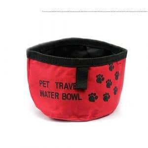 JiChuio Dog Pet Food Bowl Pliable Sac d'alimentation en Eau Pet Snack Plateau Boisson Maison Feeder Alimentaire
