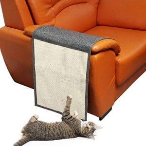 kekai Protège-Meubles pour Chat et Chat en grattoir – Protège-Meubles en sisal Naturel pour Chats, Tapis à gratter pour lit, Chaise, canapé, siège et escalier