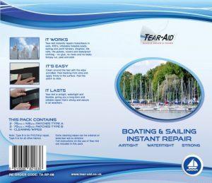 Kit de réparation pour bateau bandes Tear Aid, type A et B