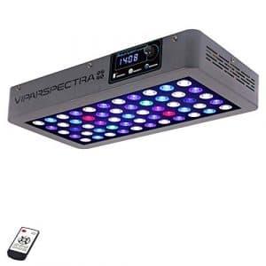 VIPARSPECTRA Minuteur de contrôle pour Aquarium à LED 165 W Éclairage Complet pour Corail Riff Eau Douce