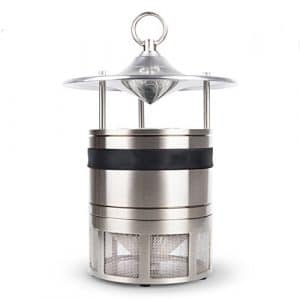 ZDQ Mosquito Killer Silent Insect Piège Lampe Mosquito Catcher Électronique LED Zapper Mosquito Lampes pour Ménage/Intérieur / Maison/Bureau / Chambre/Salon (Couleur : Black A)