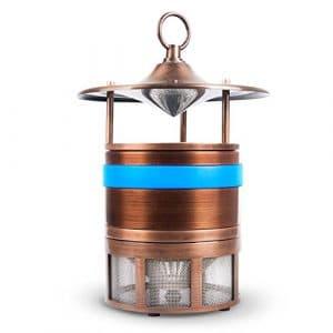 ZDQ Mosquito Killer Silent Insect Piège Lampe Mosquito Catcher Électronique LED Zapper Mosquito Lampes pour Ménage/Intérieur / Maison/Bureau / Chambre/Salon (Couleur : Blue B)