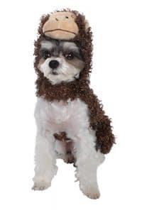 Akc-american Kennel Club Halloween à capuche Costume de singe pour animal domestique