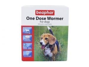 Beaphar Wormer à une dose pour chiens de taille moyenne 12 pack