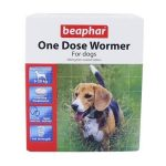 Beaphar Wormer à une dose pour chiens de taille moyenne 6 pack