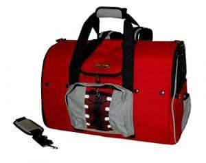 Celltei Backpack-o-Pet–Cordura (R) Rouge et Gris Clair–Grande Taille