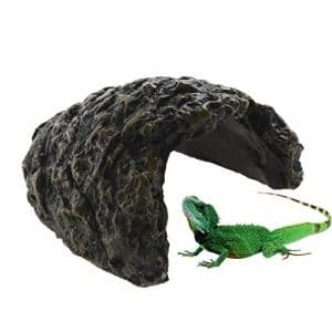 Emours Rocher-Grotte pour Aquarium de Reptile – en Résine – Taille S