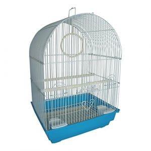 Heritage FPO025 Kendal Cage à oiseaux pour perruche, pinson, canari 34 x 28 x 49 cm