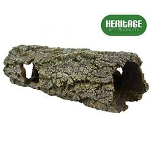 Heritage Tb093 Grand arbre Log du bain Tunnel pour aquarium peint à la main Décoration 30 cm