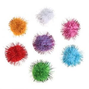Chaunce Lot de 70 balles à Paillettes 3,5 cm