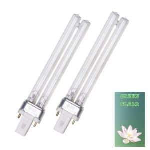 Clear Green Véritable Vert Clair Lot DE 211W (W) Ampoule UV PLS de Remplacement Lampe pour Filtre de Bassin UVC