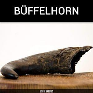 Corne de Buffle L (400g +)–Une Seringue.–de George de & Bobs