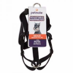 Doskocil Aspen Pet Products 17210Harnais pour Chien, 5/8par 12au 50,8cm, Noir