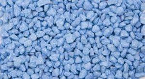Fluo Gravier bleu 2,5kg (Lot de 10)