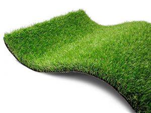 Gazon synthétique Pine Valley – Échantillon Pelouse Synthetique de Haute Qualité   Gazon Artificiel à l'Aspect Naturel   Pelouse Jardin Terrasse ou Balcon