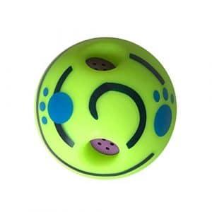Hianiquaime Wobble Wag Giggle La Balle Sonore pour Chien Jeu interactif Balle Jolie Balle avec Sons Amusants Faire des Drôles Rire de Faire Le Chien Heureux Toute la Journée