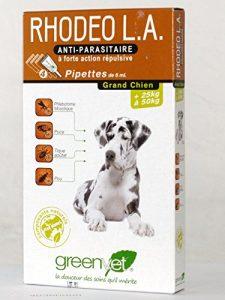 Rhodeo L.A grand chien 25 à 50 kg 4 pipettes