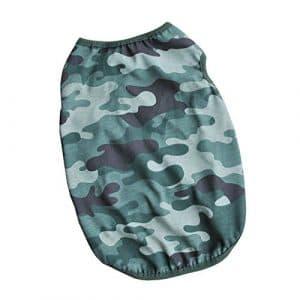 Roblue Gilet de Camouflage Classique d'été pour Chiens Chats Respirant en Coton