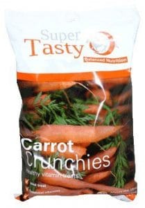 Super Codlivine Crunchies Horse Treats Carrot Clear
