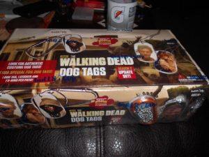 The Walking Dead Dog Tags «Season 2mise à jour de Lot de» 24-pack Factory Sealed Box