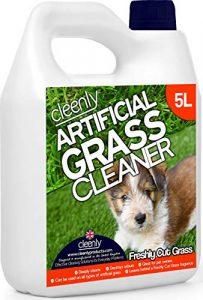 Cleenly Gazon Artificiel Nettoyant pour Chien–Herbe fraîchement Coupée Parfum–5litres–Élimine Les odeurs d'urine/Chien Wee
