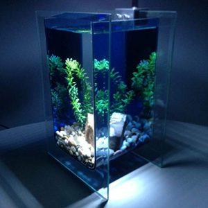 Generic Ravel Stone Lampe Pompe ump Gravier Aquarium Verre Complet Aquarium G Gravier Pierre Pompe Set LED um Glas