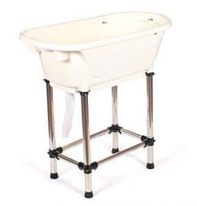 Generic Tub Baignoire Plasti pour Animal Domestique Chat de qualité de polypropylène Toilettage pour Chien en Plastique de Bain Baignoire Baignoire de qualité de polypropylène PL