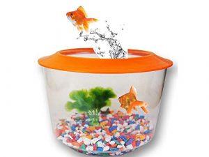 Generic WL Gravier P Aquarium pour Aquarium Doré NK Bol de Golf et Aquariums